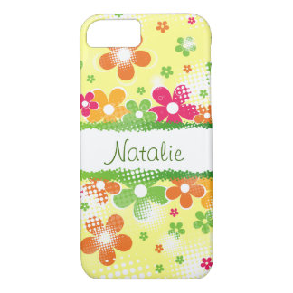 Flower Power customizable iPhone 7 Case