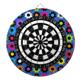 Flower Power Dartboard