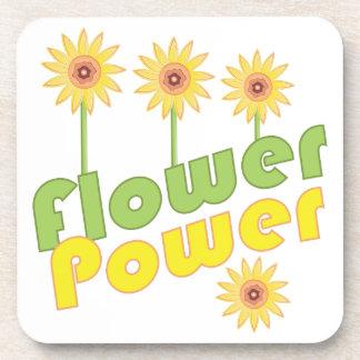 Flower Power Drink Coasters