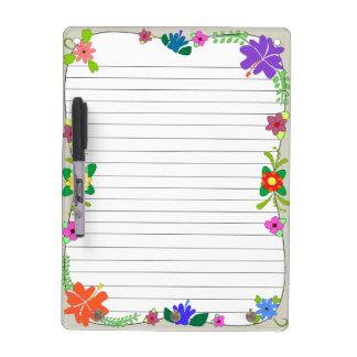 Flower Power Dry Erase Boards