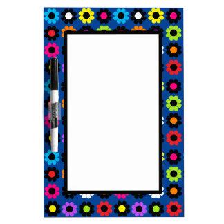 Flower Power Dry-Erase Whiteboard