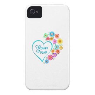 Flower Power Heart iPhone 4 Case-Mate Case