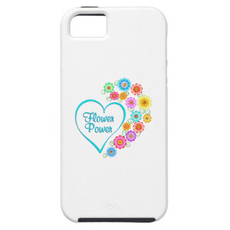 Flower Power Heart iPhone 5 Cases