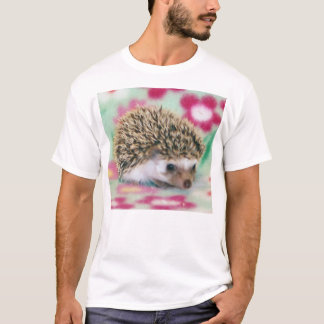 Flower Power Hedgehog T-Shirt