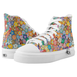 Flower Power High Tops