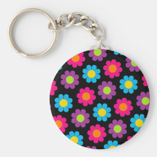 Flower Power Key Ring