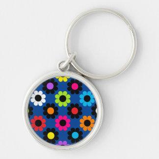 Flower Power Key Ring