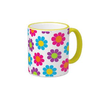 Flower Power Coffee Mugs