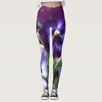 Flower Power Pansy Leggings