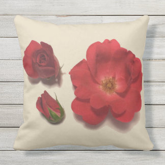 FLOWER POWER PATIO STYLE OUTDOOR CUSHION
