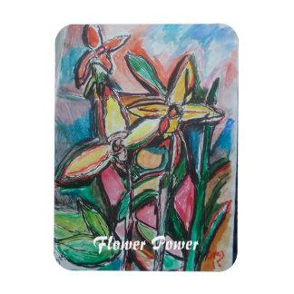FLOWER POWER PHOTO MAGNET