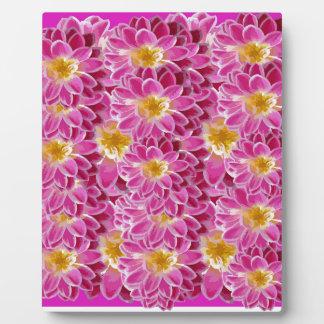 flower power plaque