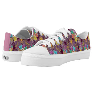 Flower Power Printed Shoes