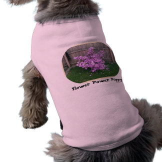 Flower Power Puppy Sleeveless Dog Shirt