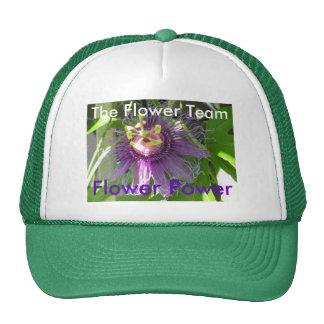 Flower Power, The Flower Team Mesh Hats