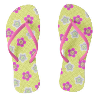 Flower Power Thongs