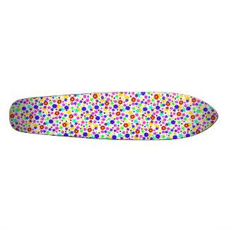 FLOWER POWER transparent (pick a background color) Skate Board Decks
