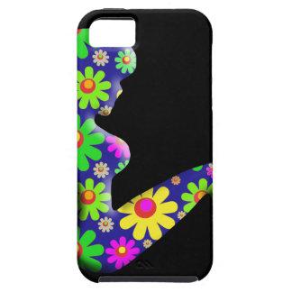Flower Power Trucker Girl iPhone 5 Covers