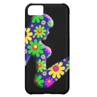 Flower Power Trucker Girl iPhone 5C Cover
