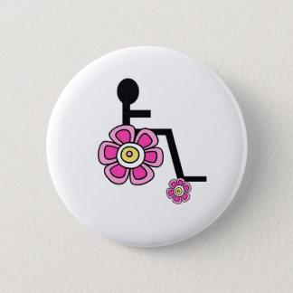 Flower Power Wheelchair Button