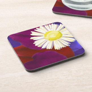 Flower Presentation :  Rose Petal Art Coaster