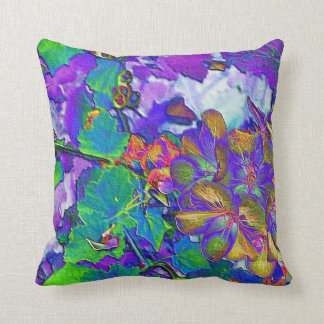 Flower Print Cushion