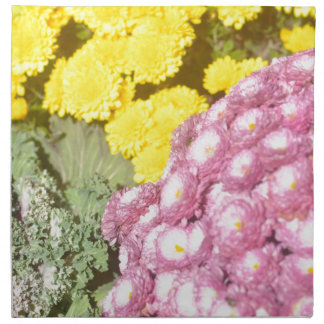 Flower products napkin