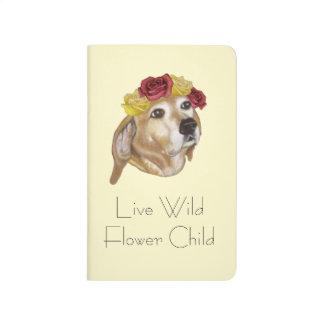 Flower Pup Notebook