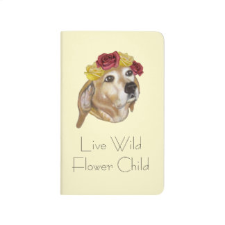 Flower Pup Notebook Journal