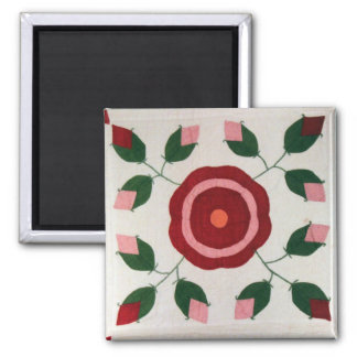 Flower Quilt Block 2906 Magnet