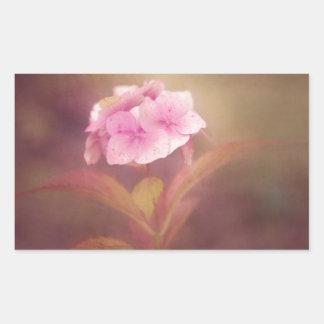 flower rectangular sticker