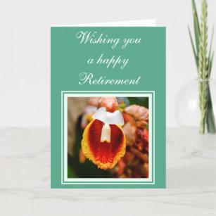 Retirement wishes cards zazzle au flower retirement wishes card m4hsunfo