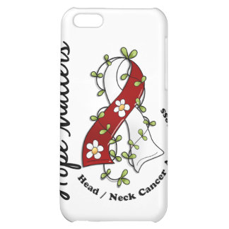 Flower Ribbon 4 Hope Matters Head Neck Cancer iPhone 5C Cover