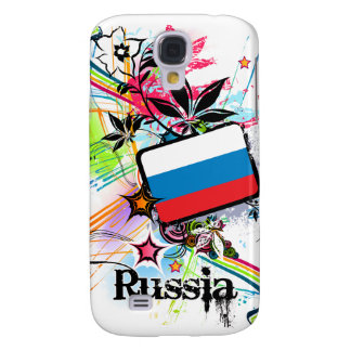 Flower Russia Galaxy S4 Cases