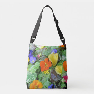 Flower Salad Crossbody Bag