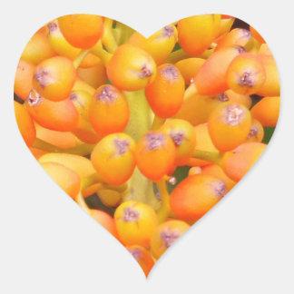 Flower Seeds Heart Sticker