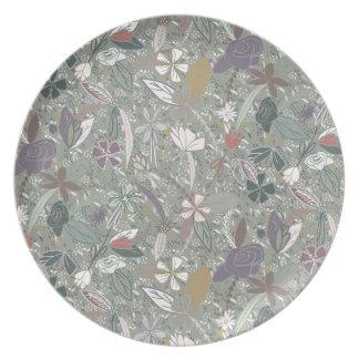 Flower seeds Morning mist Plate