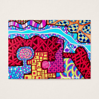 Flower Shaman and Dreaming Designs Business Card