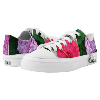 Flower Shoes Printed Shoes