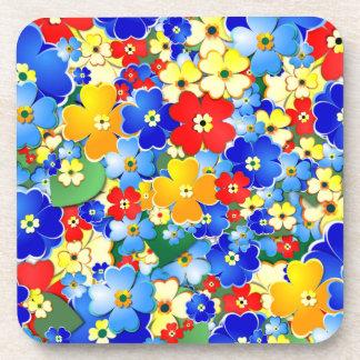 Flower Shower Drink Coasters