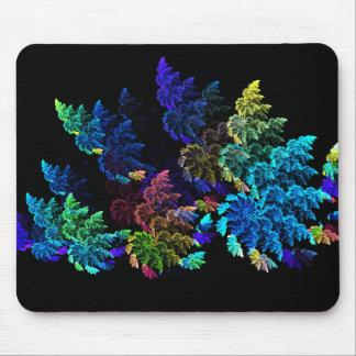 Flower shrubs mouse pad