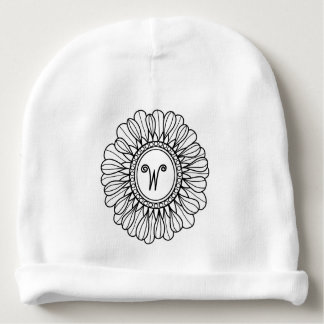 Flower Single Baby Beanie
