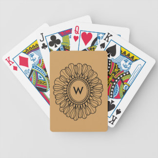 Flower Single Bicycle Playing Cards