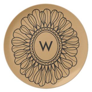 Flower Single Plate