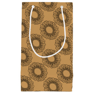 Flower Single Small Gift Bag