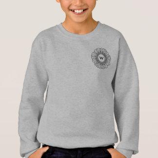 Flower Single Sweatshirt