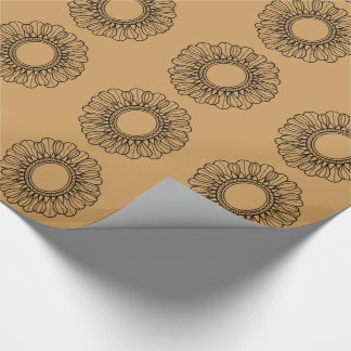 Flower Single Wrapping Paper