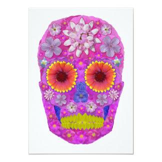 Flower Skull 2 Card