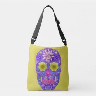 Flower Skull 5 Crossbody Bag