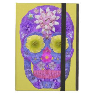 Flower Skull 5 iPad Air Cover